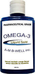 Liquid Gold Fish Oil.