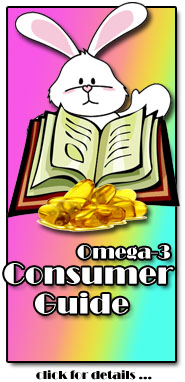 Click Here for details on the Omega-3 Consumer Guide : Your FREE GIFT!!