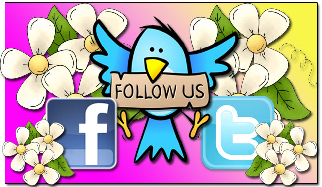 Follow us on your favorite social media site